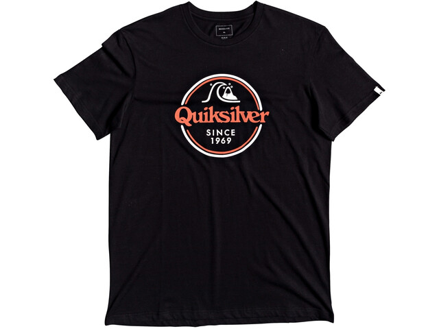 Quiksilver Words Remain SS Tee Men black